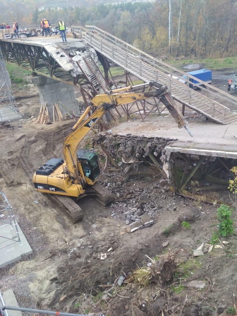 """На КПВВ """"Станиця Луганська"""" відкрили обхідний міст, поки йде ремонт основного (ФОТО)"""
