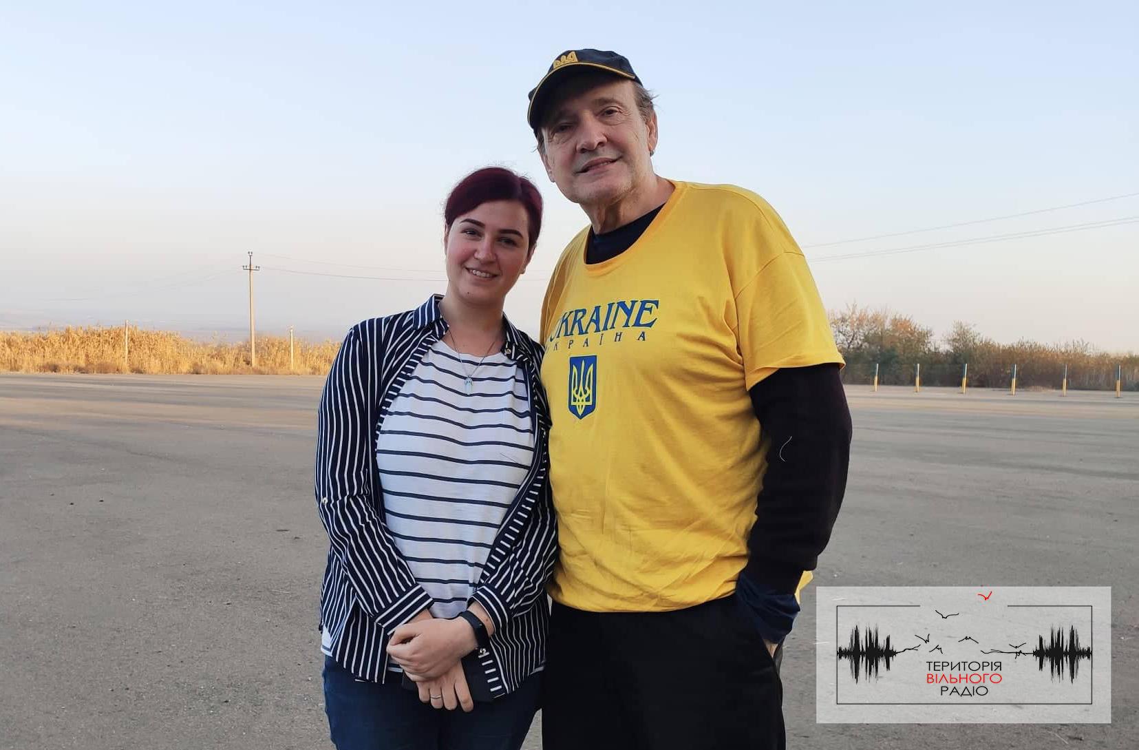 Американський поет, який пише вірші про Україну, приїхав на Донеччину