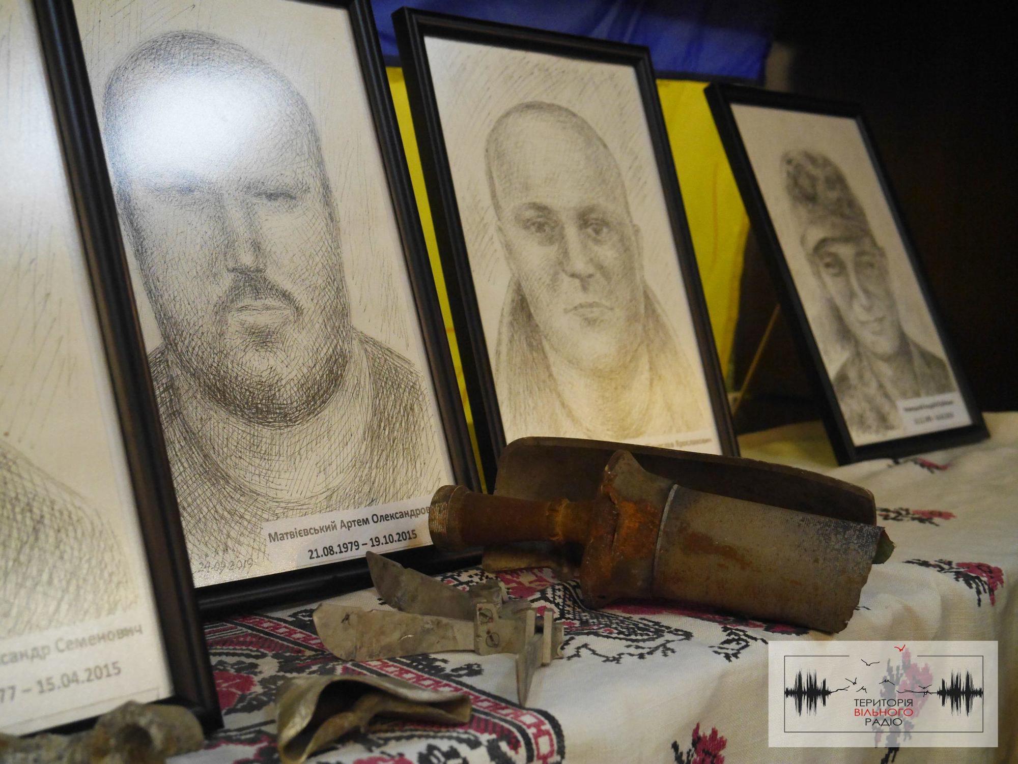 В Бахмуті презентували незвичайну виставку портретів