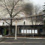 Спасатели ликвидировали пожар на шахте Торецка (ВИДЕО)