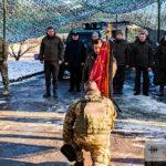 """Добровольчий батальйон """"Донбас"""" отримав почесне звання і бойовий прапор (ФОТО)"""