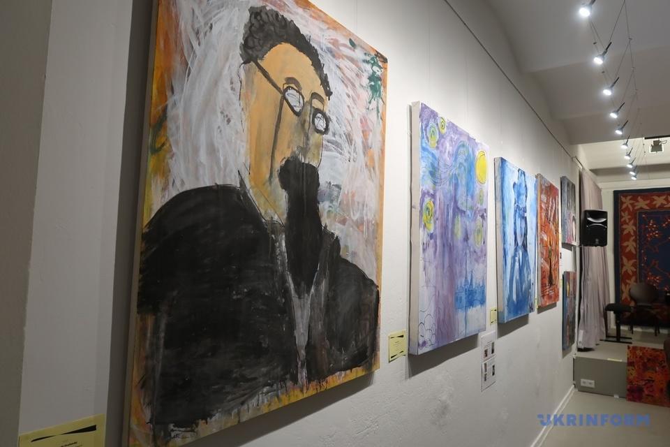 В Берліні провели благодійну виставку картин дітей Донбасу