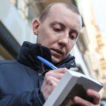Звільнений з полону бойовиків журналіст Асєєв розповідатиме про Донбас у Німеччині