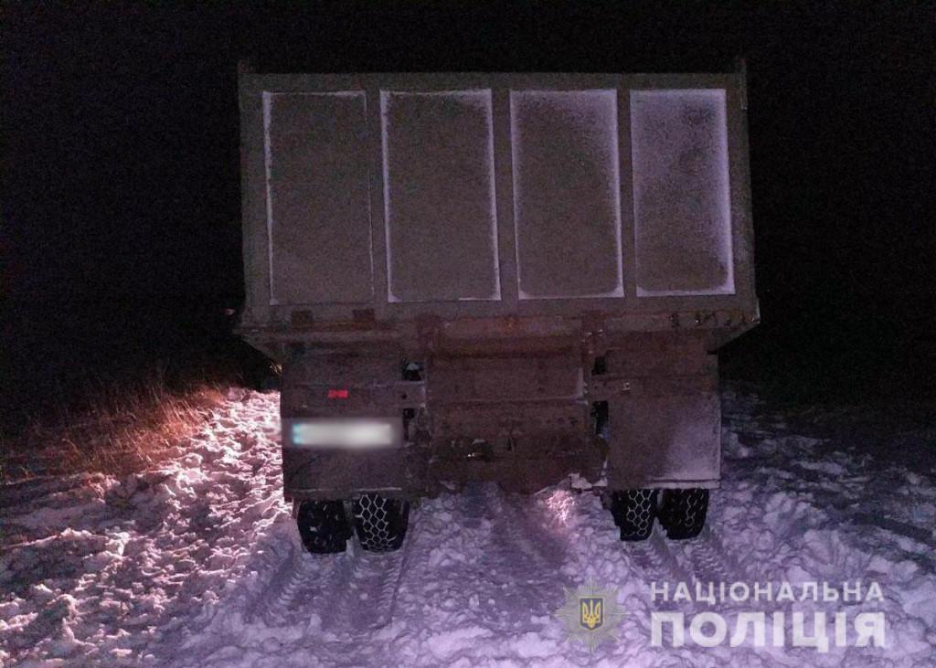 В Бахмутском районе грузовик насмерть переехал мужчину (ФОТО)