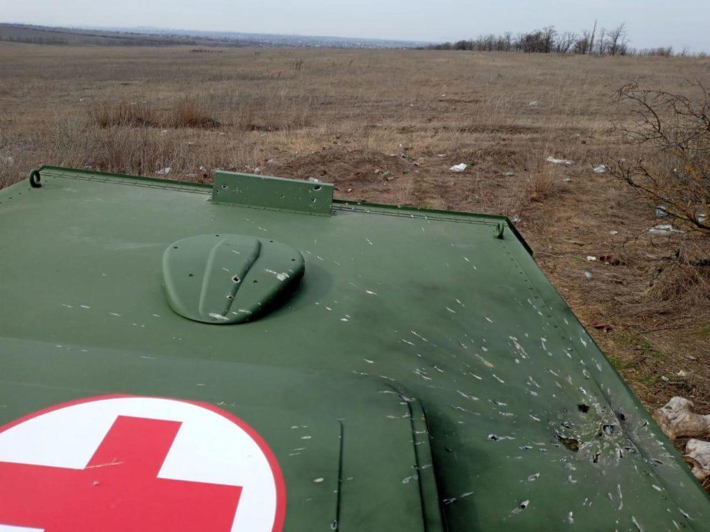 Бойовики обстріляли з мінометів позиції ЗСУ та з дронів — військових медиків, — штаб ООС