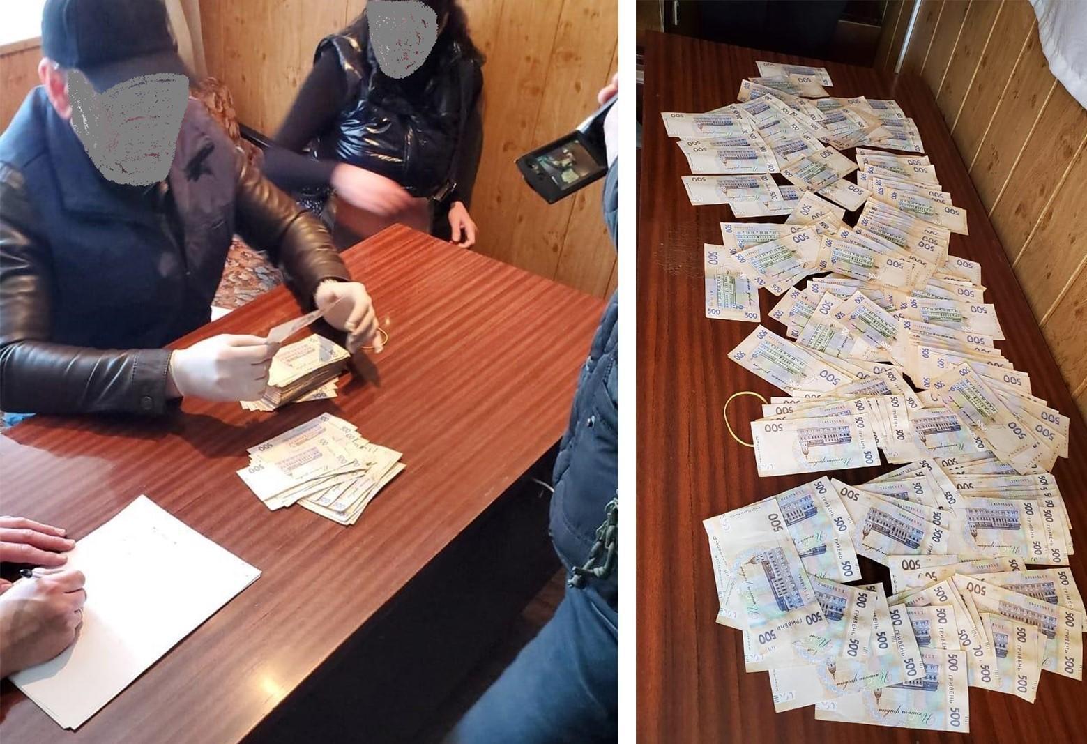 У Покровську прокурора впіймали на хабарі у понад 90 тис грн