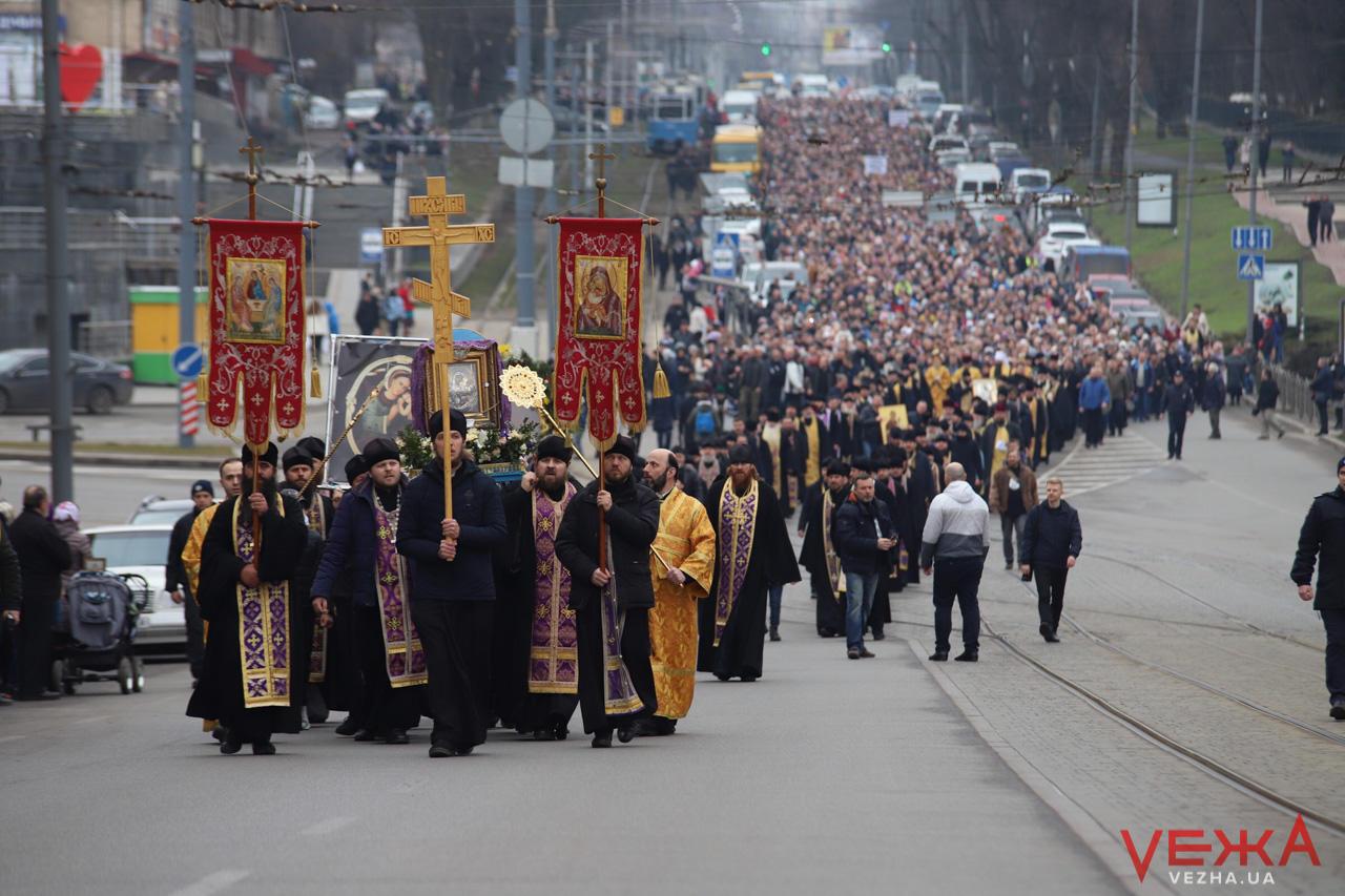 Пасха шествие Винница