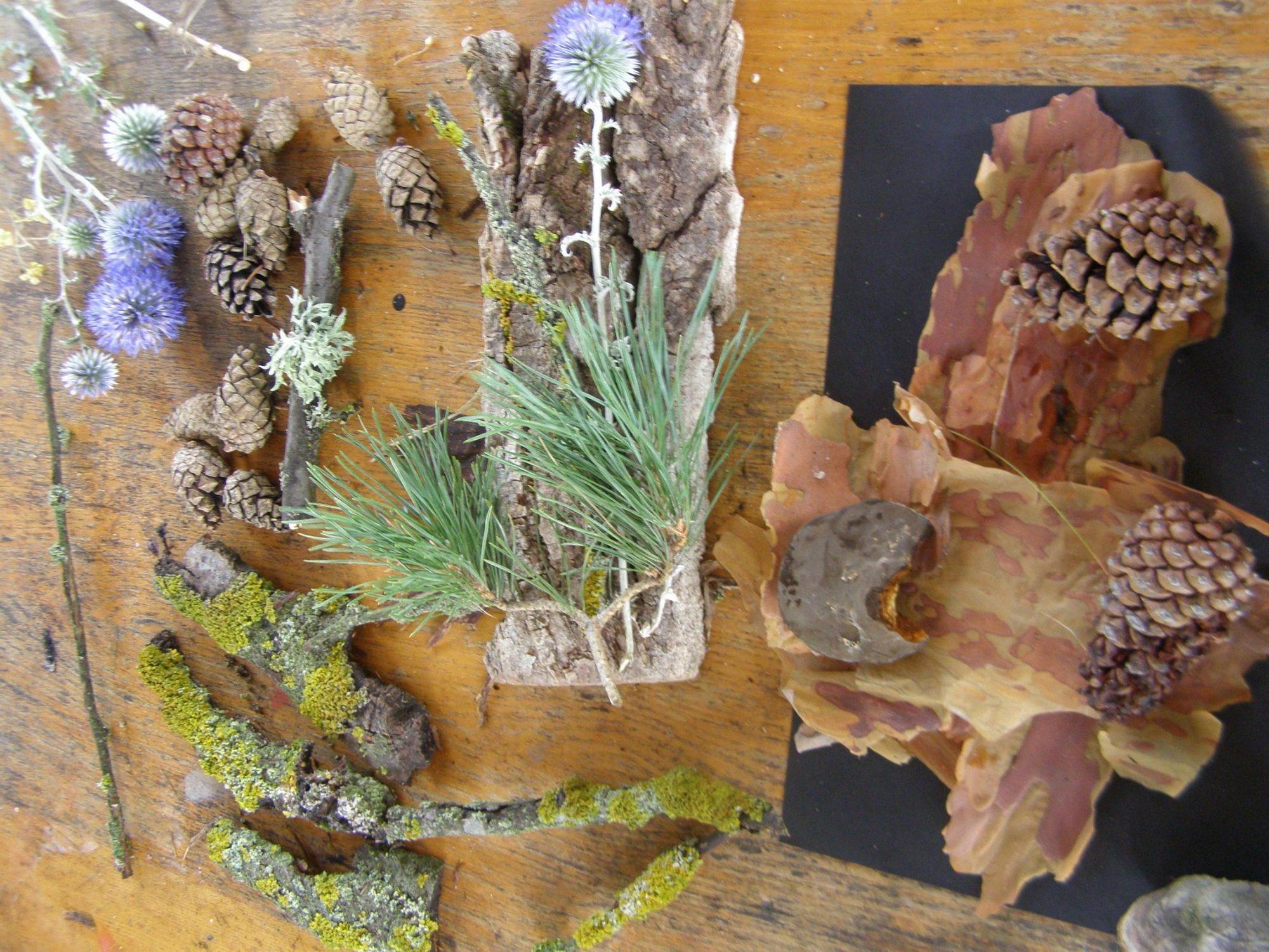 поробки з природного матеріалу