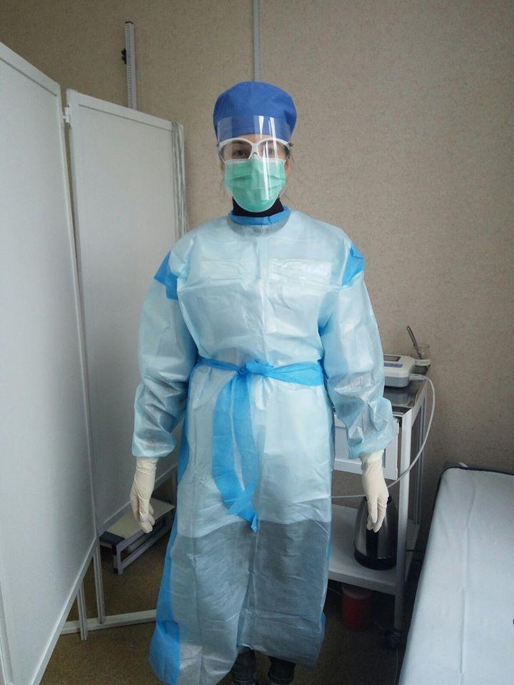 захисний костюм Бахмут коронавірус