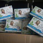 Бахмутські лікарі отримали від благодійників захисні халати та щитки проти коронавірусу,  —  ЦПМД