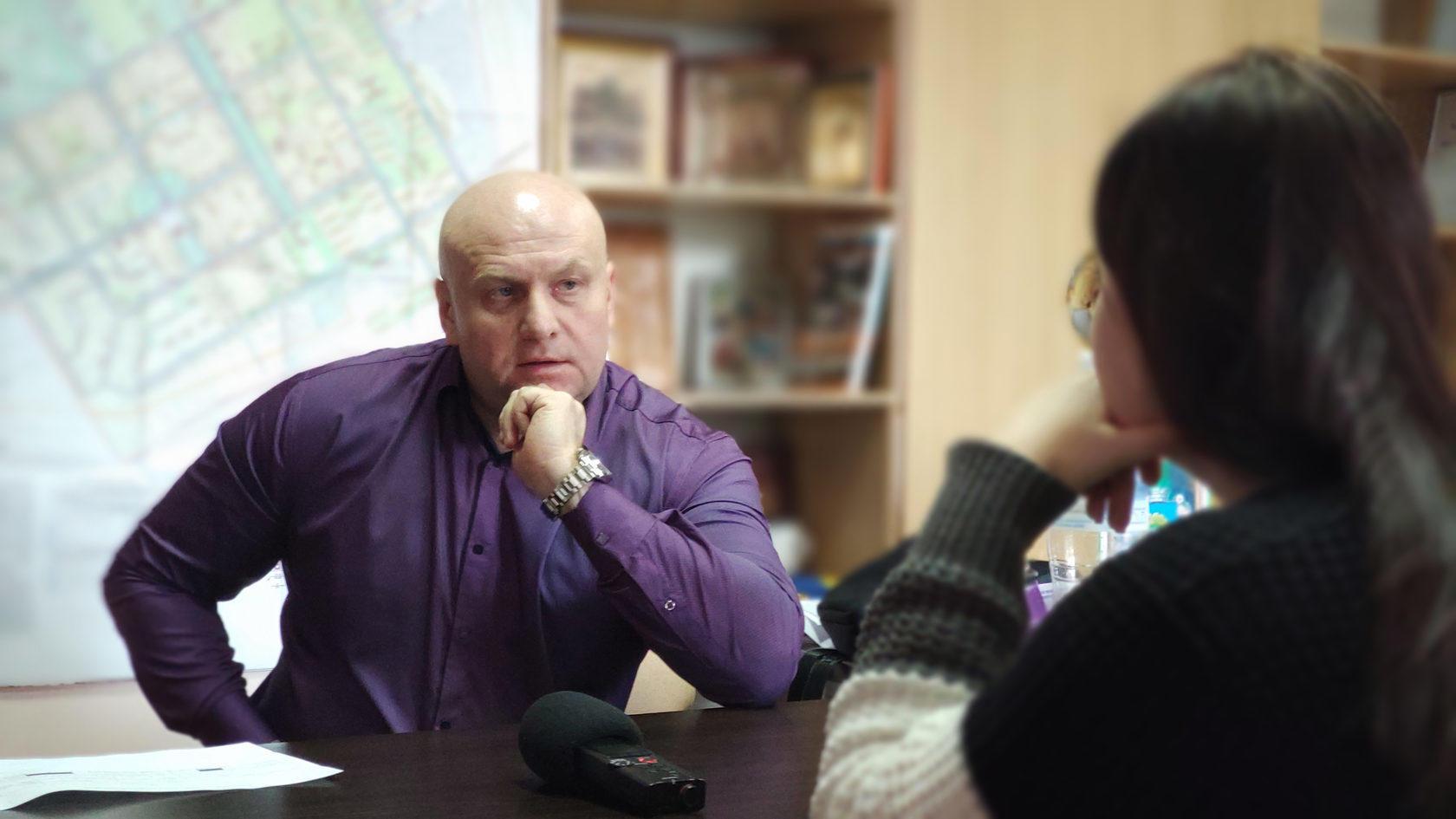 міський голова м. Білозерське Сергій Макєєв