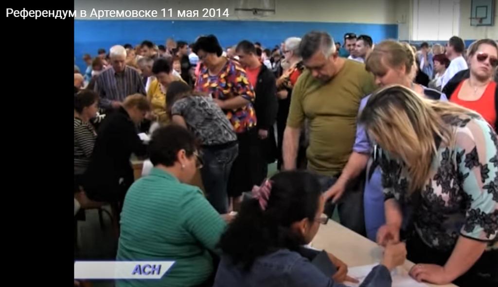 псевдореферендум Володимир Литовченко