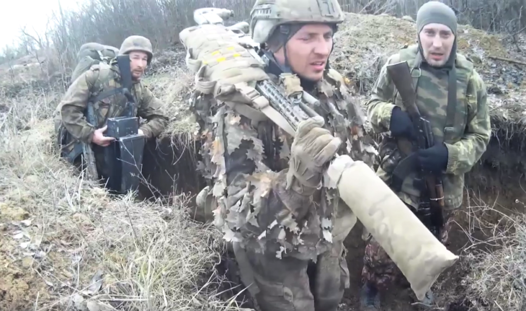 російські снайпери Донбас