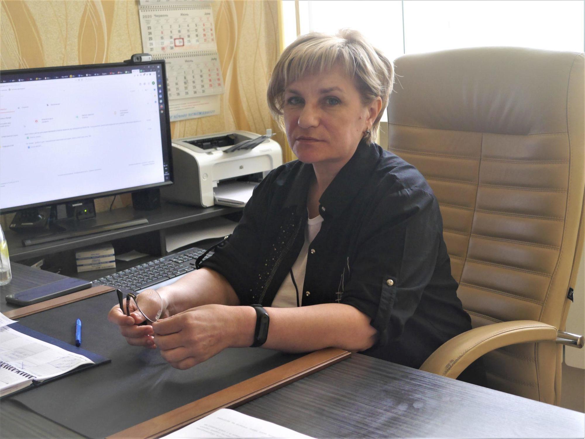 Світлана Шабаліна головна лікарка ЦПМД Бахмута