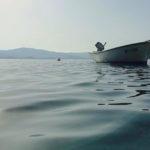 Работники Чрезвычайной службы Донетчины спасли 3 детей из полузатопленной лодки