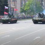 Попри спалах коронавірусу в окупованому Донецьку та Луганську проводять парад перемоги (ФОТО)