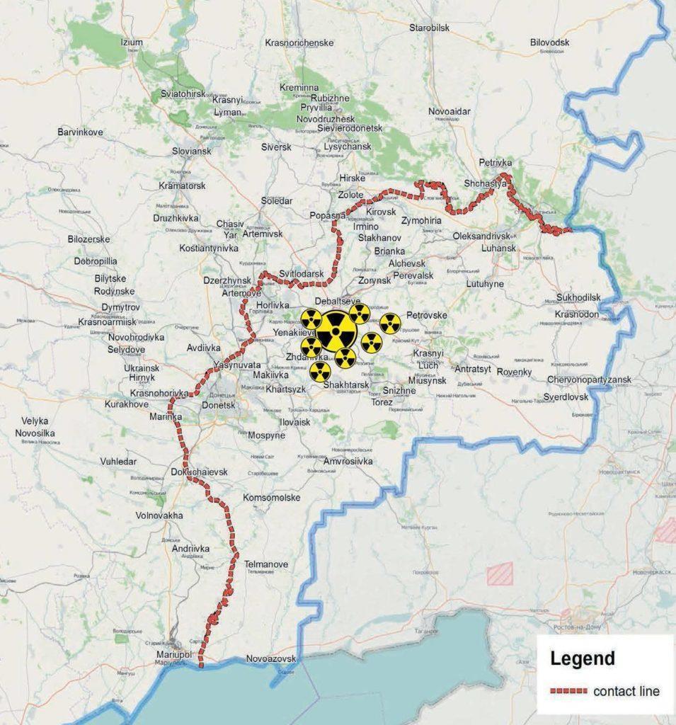 Питна вода Донбасу під загрозою радіоактивного забруднення, – міжнародні наглядачі