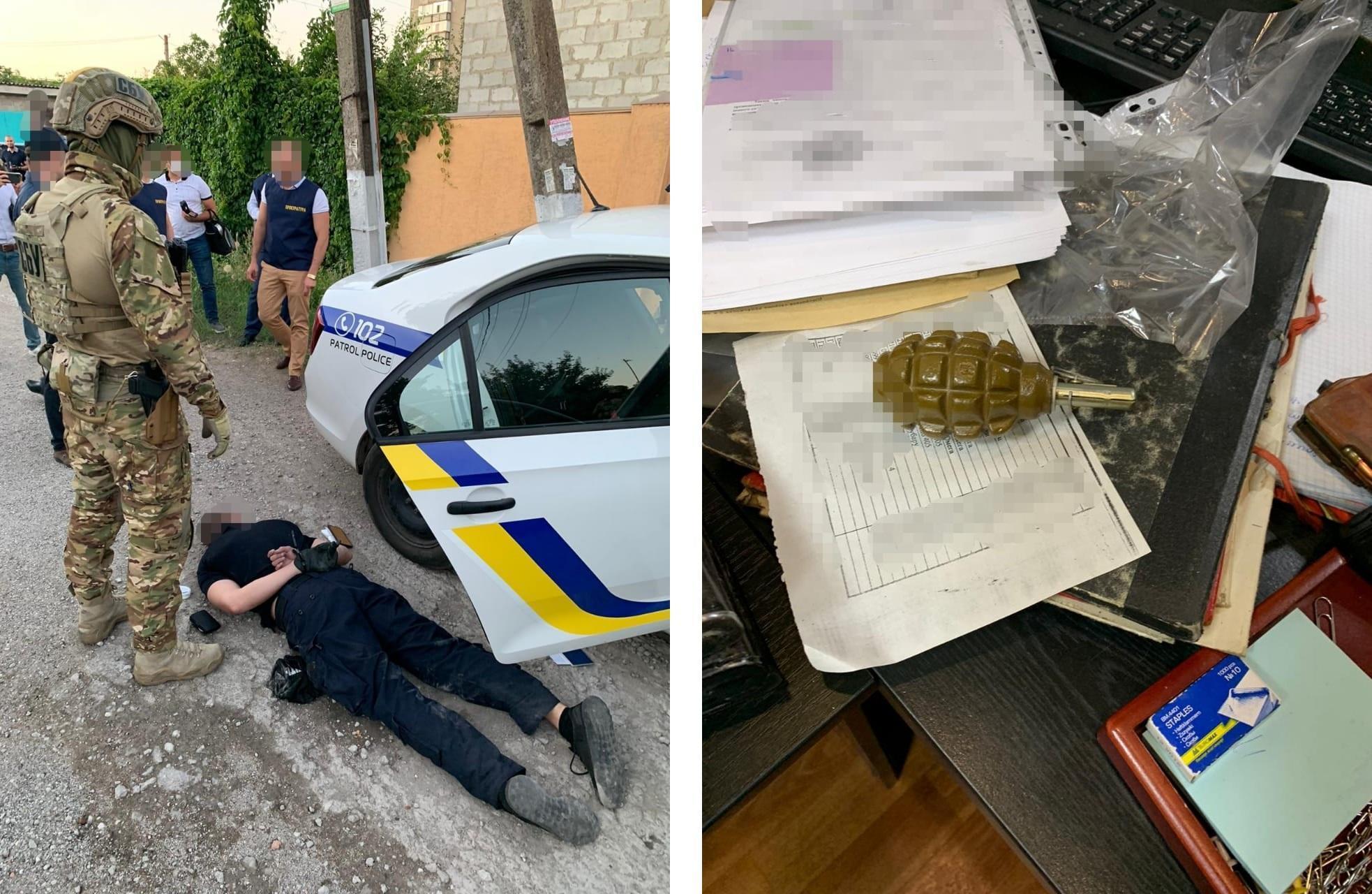 На Донеччині викрили групу правоохоронців, які торгували наркотиками та викрадали людей