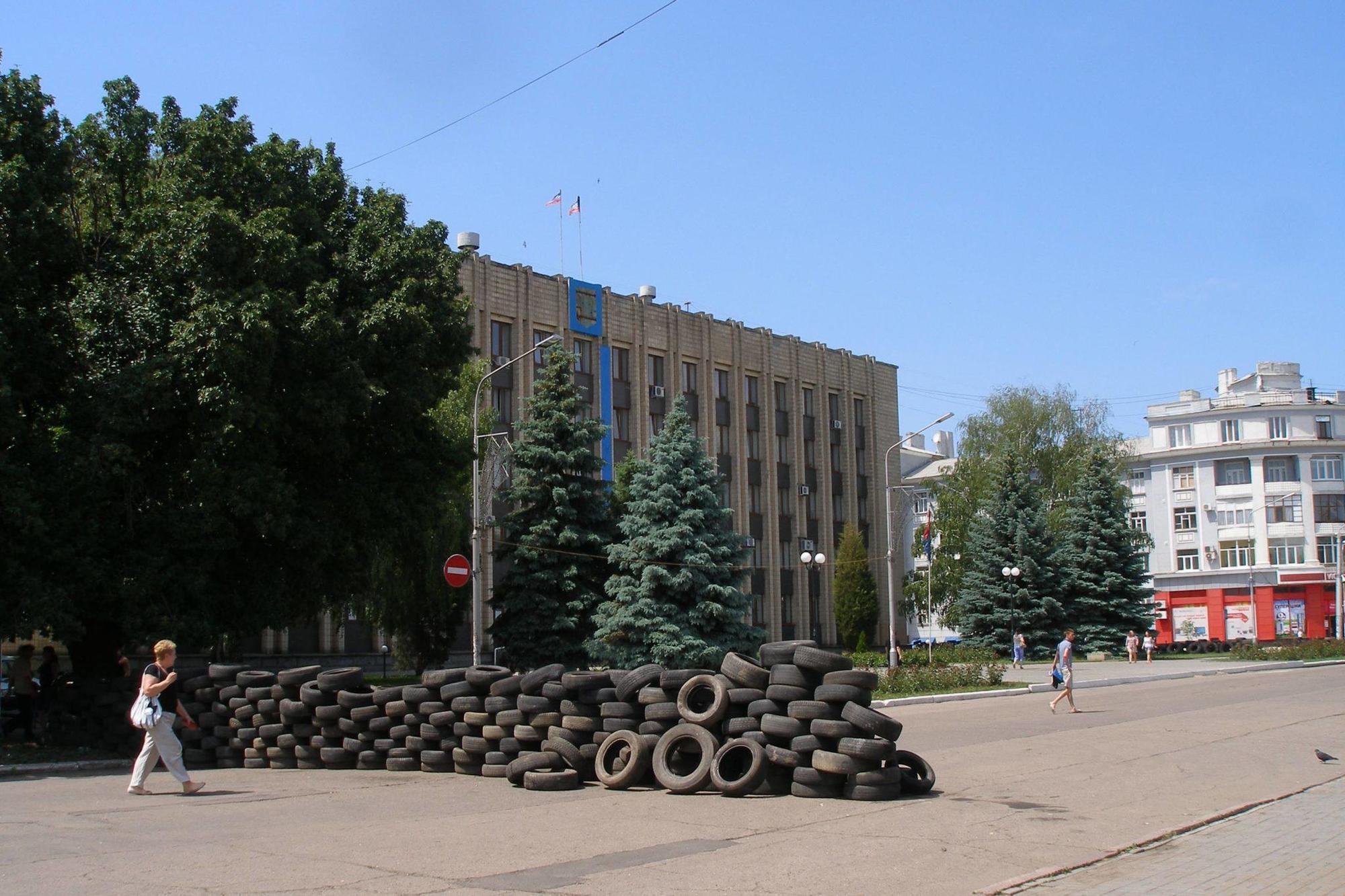 Артемівськ Бахмут окупація ДНР міськрада