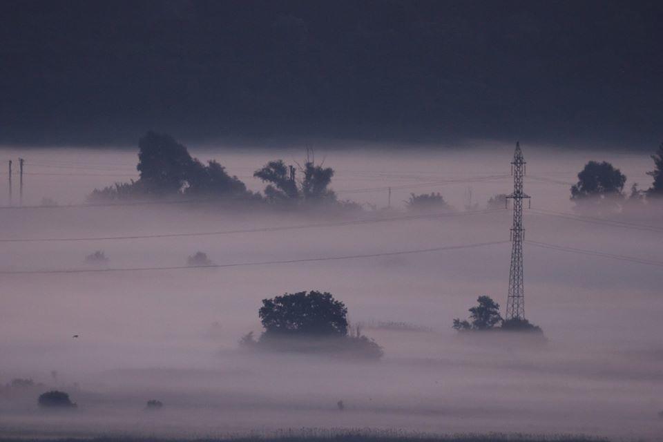 ранковий туман Щурова гора