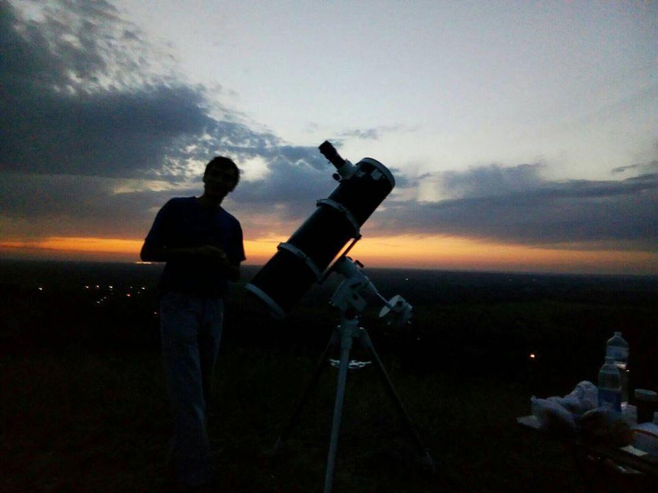 телескоп аматор-астроном