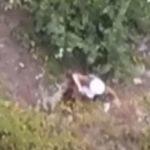 Дрон зафільмував пораненого під Зайцевим військового з обстріляної групи евакуації (ВІДЕО)