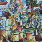 В Бахмутском музее готовятся к выставке картин Садчикова. Ее можно будет посетить даже онлайн