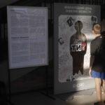В Бахмуте появилась инсталляция о пропавших без вести на Донбассе людях