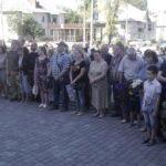В Бахмуте почтили память земляков, погибших в русско-украинской войне