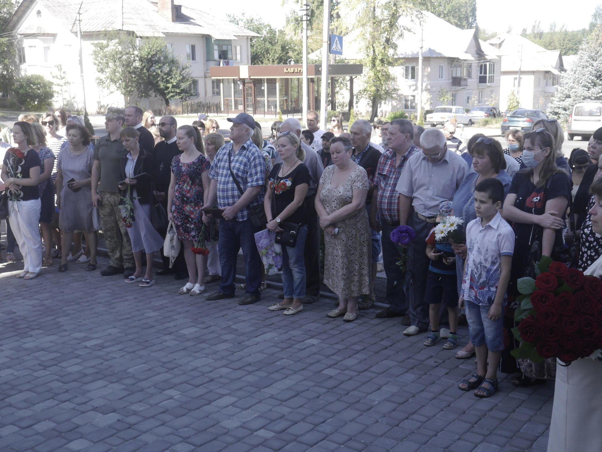 день памяти защитников Украины семьи погибших Бахмут