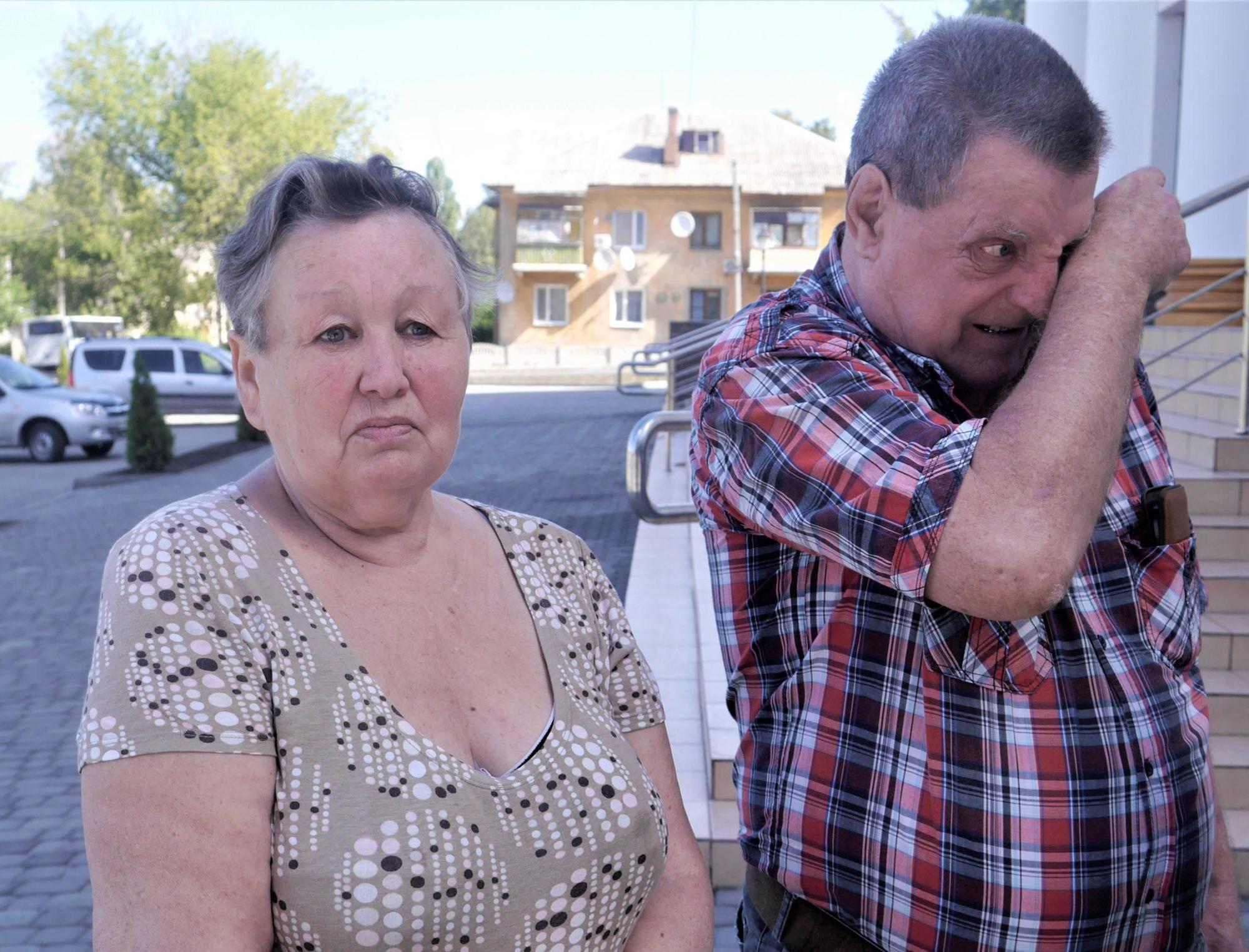родители погибшего воина Бахмут Головко