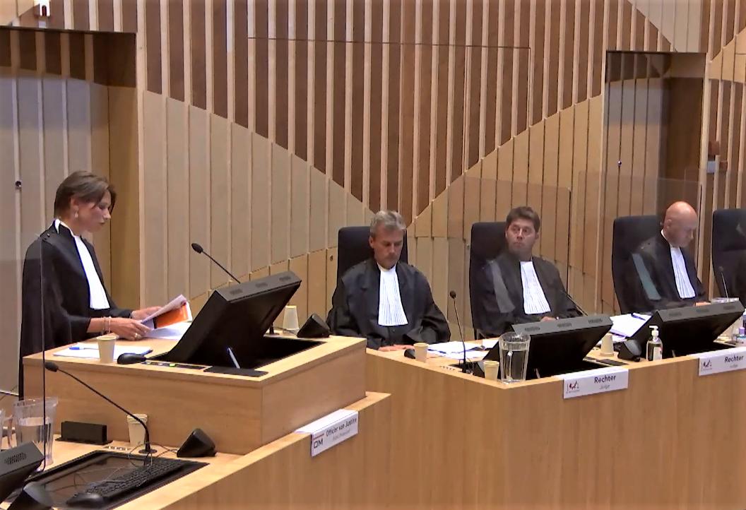 Окружной суд Гааги судьи MH17 31 августа