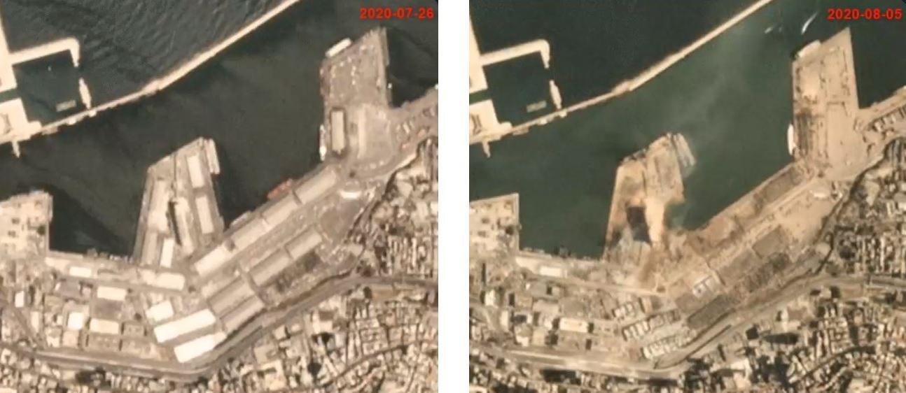 Взрыв в Ливане: в порту Бейрута стояли 2 судна, прибывших из Мариуполя. Есть ли пострадавшие украинцы
