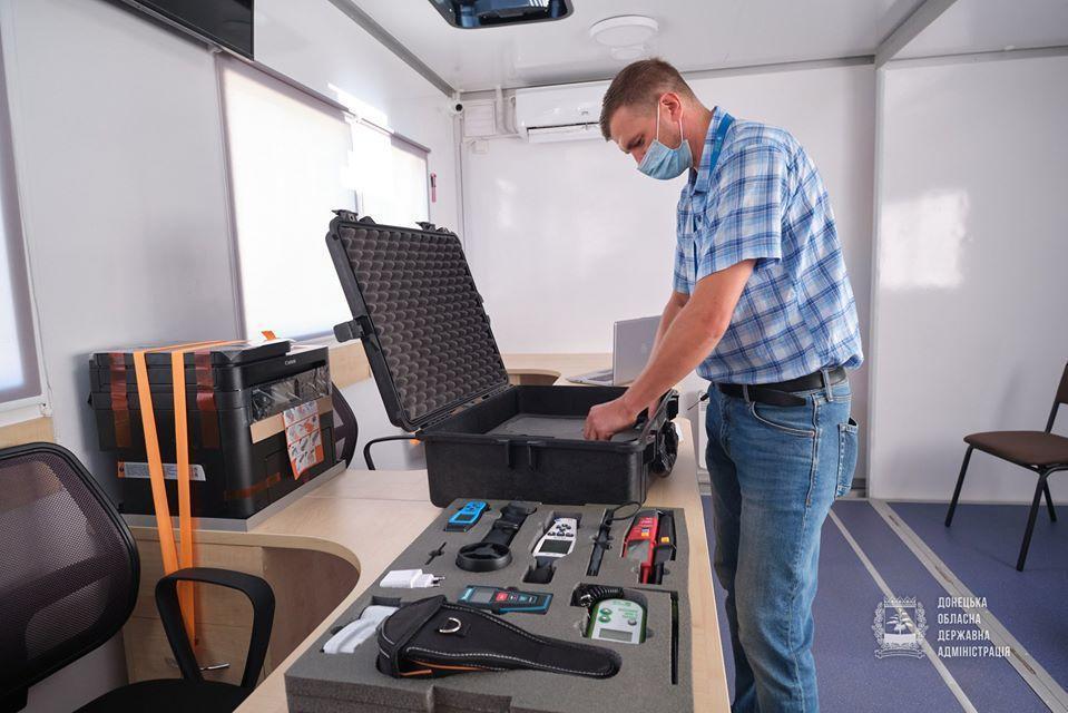 мобильный ЦПАУ проверка оборудования салон