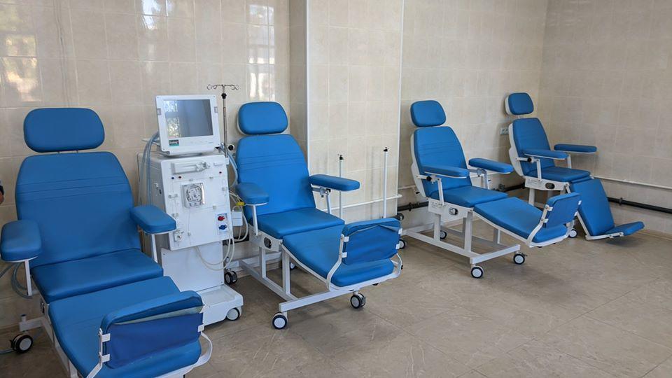 отделение гемодиализа Бахмутская больница