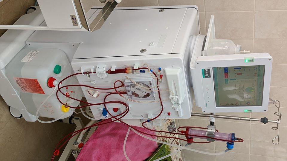 оборудование для гемодиализа Бахмутская больница