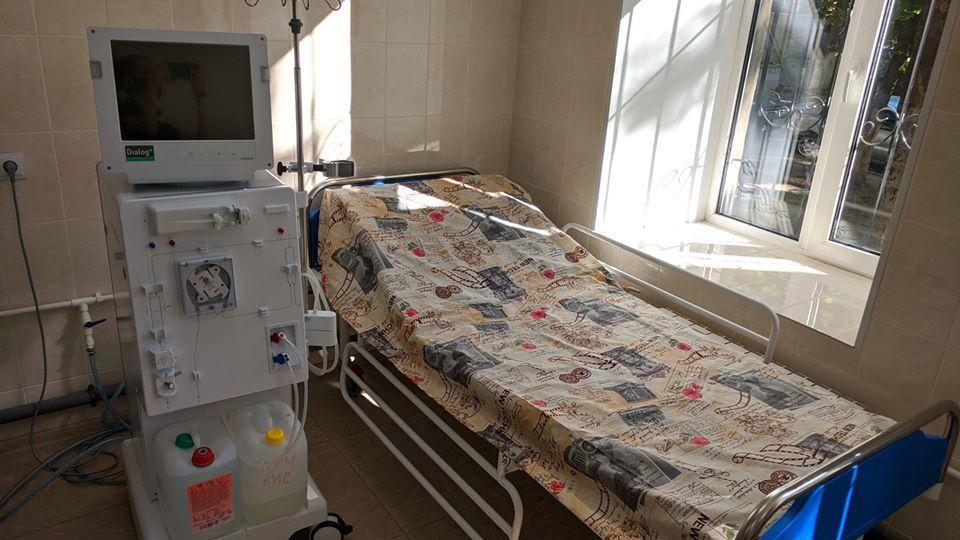 кровать отделение гемодиализа Бахмутская больница