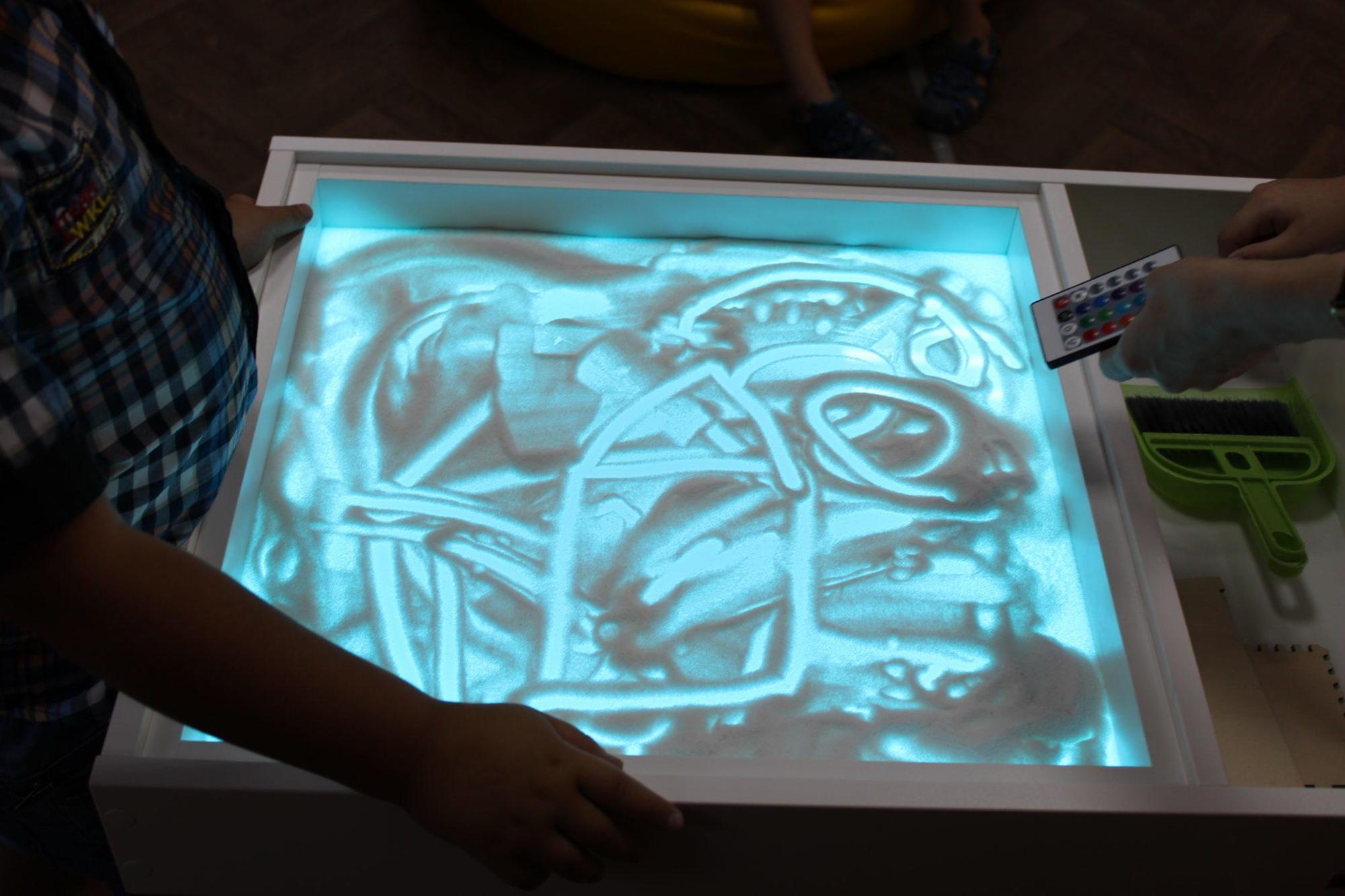 світловий стіл пісочна анімація