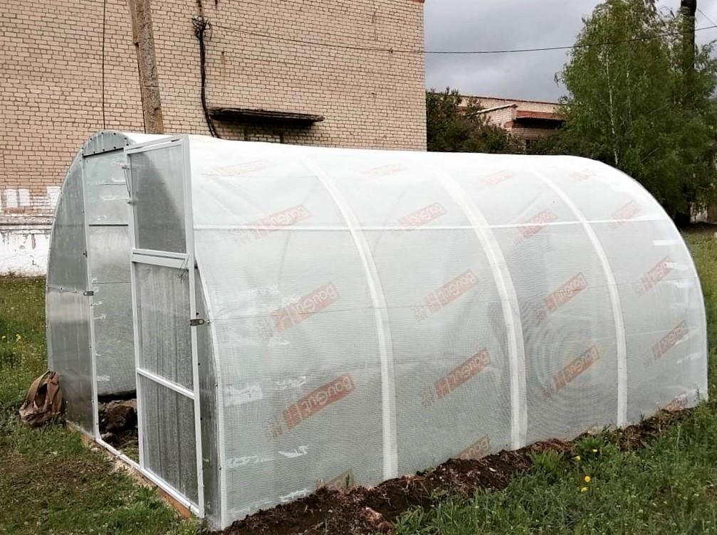 шкільна теплиця агрохаб паросток новомиколаївка