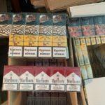"""Часть вывезены с т.н. """"ДНР"""": В Покровске изъяли более 100 тыс пачек сигарет и 1200 л алкоголя"""