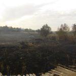 В Гладосово сгорели 4 га территории и 1 жилой дом