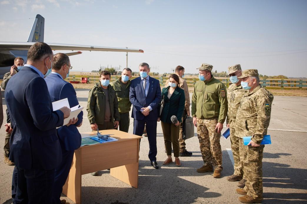 президент Зеленський летовище місце катастрофи АН-26 Чугуїв