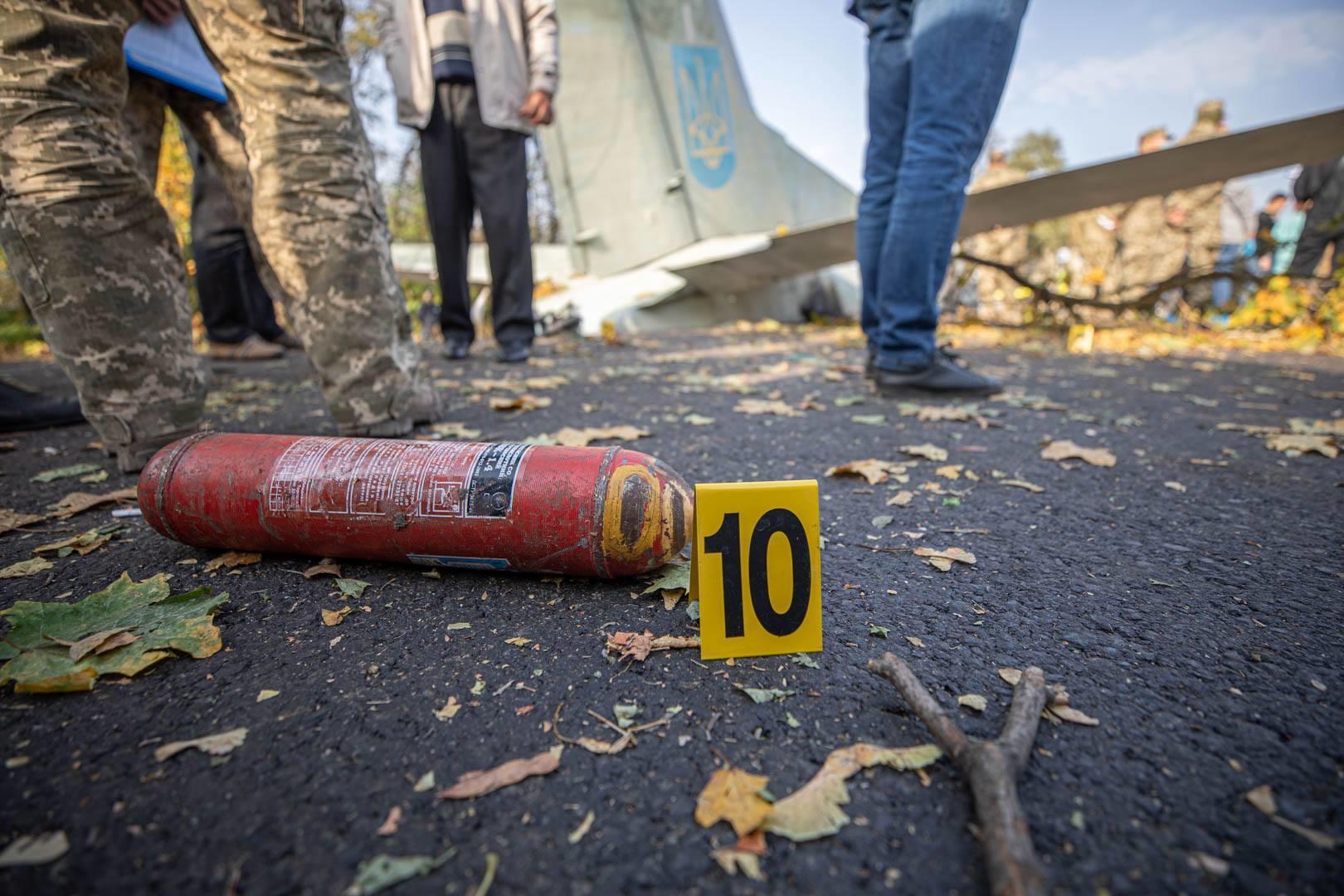 вогнегасник катастрофа літака АН26 Чугуїв
