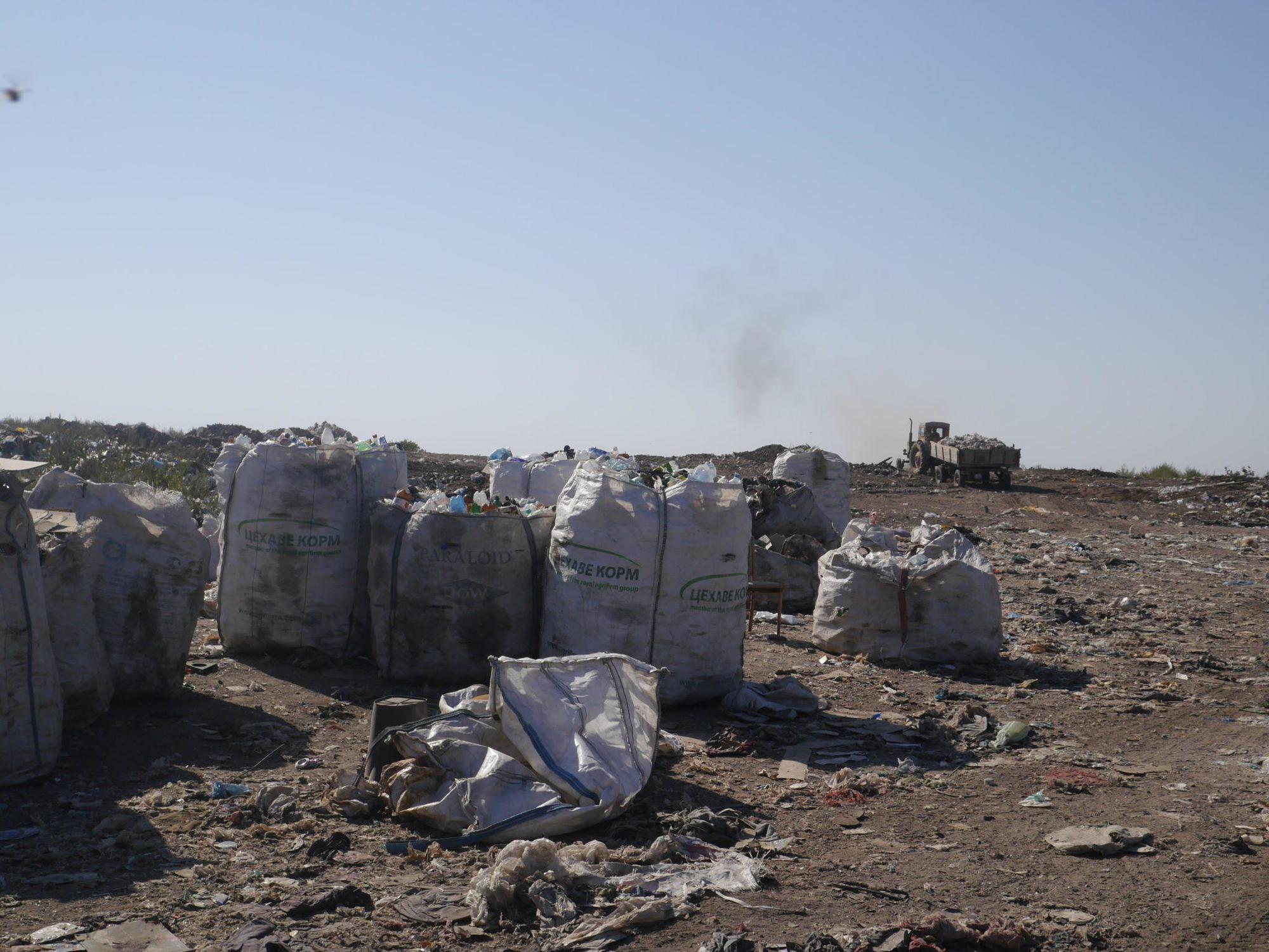 будівельні відходи полігон ТПВ Бахмут бахмутське сміттєзвалище