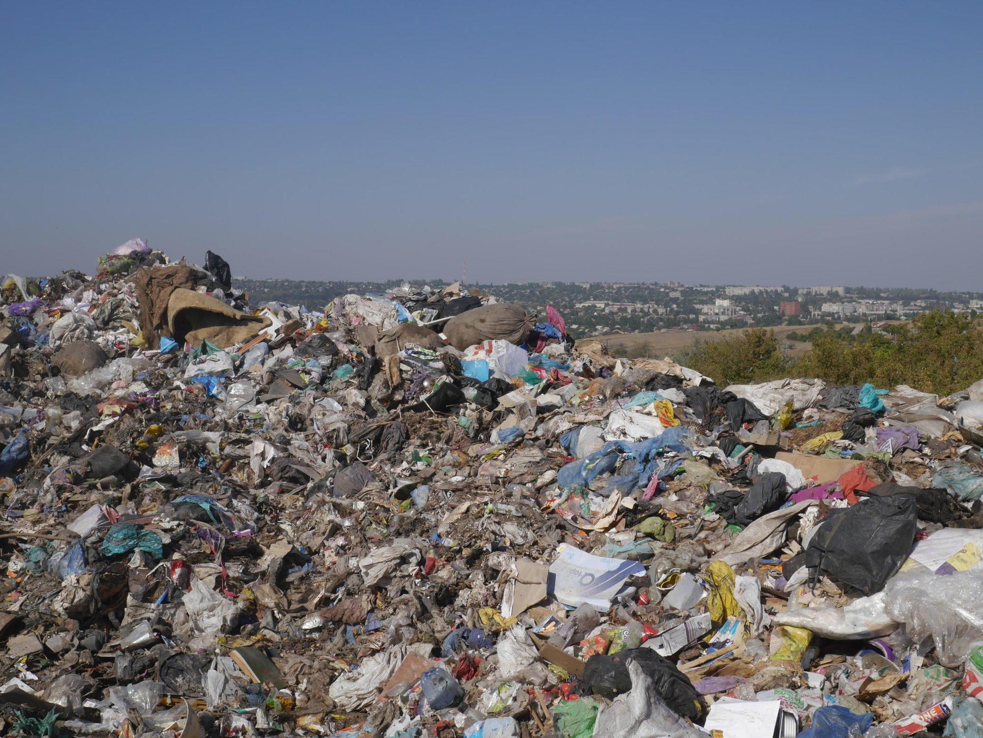 побутові відходи полігон ТПВ Бахмут бахмутське сміттєзвалище