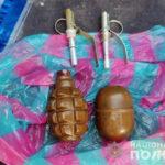 В Добропіллі поліцейські визволяли кошеня та випадково знайшли кілька гранат