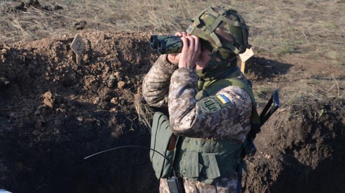 25 сентября на востоке Украины, несмотря на перемирие, боевики стреляли дважды, — штаб ООС