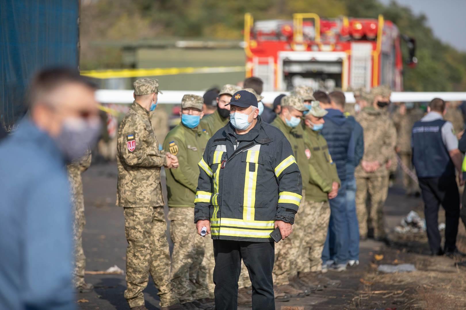 силовики Чугуїв катастрофа літака слідчі