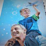 В Бахмуті завершили два мурали і почали малювати третій