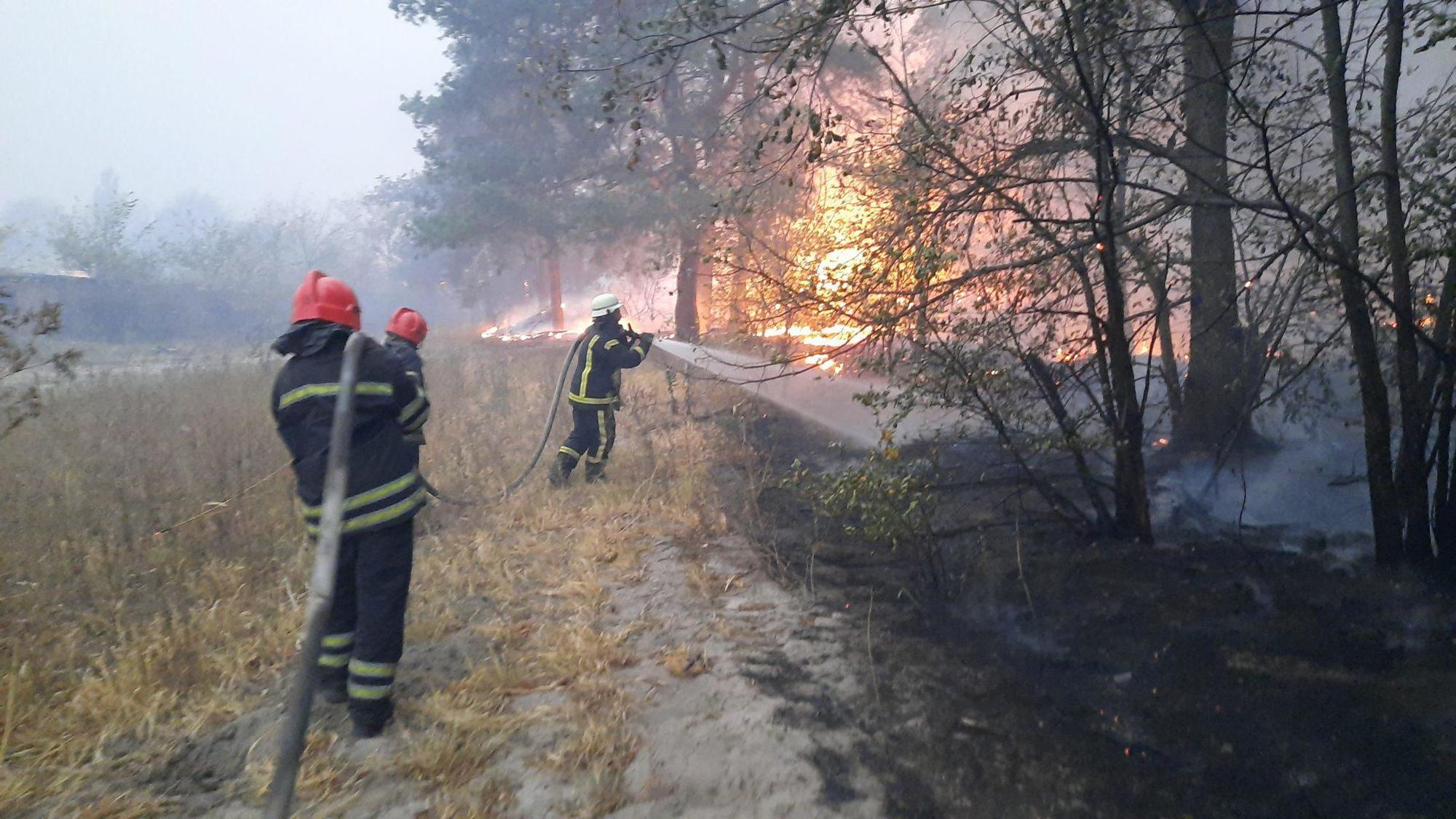 пожары на Луганщине